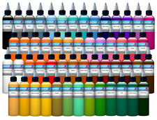 Intenze Tattoo Ink 54 color set with free After Inked Pillow Pack 3 pcs