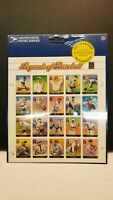 LEGENDS OF BASEBALL...PANE OF 20 (33c) STAMPS...MNH...S/A...SEALED