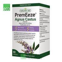 Natures Aid PremEeze Agnus Cactus 400mg 60 Capsules