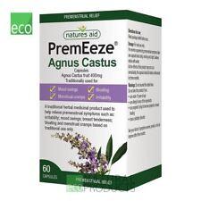Natures Aid premeeze Agnus Cactus 400mg 60 Cápsulas