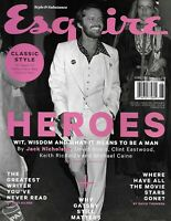 Jack Nicholson Esquire Magazine Heroes David Bowie Clint Eastwood Keith Richard