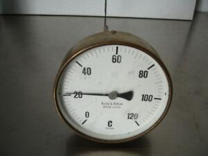 Sudhaus - Thermometer 0-120 °C, Barby & Kühner