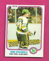 1981-82 OPC # 161 NORTH STARS DINO CICCARELLI EX-MT ROOKIE CARD (INV# D0590)