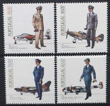 PORTUGAL 1983 Air Force Uniforms Aircraft Set of 4 Mint Never Hinged SG1948/1951