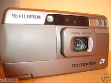 BOXED FUJIFILM FOTONEX 100ix PANORAMA APS FILM CAMERA WITH 25MM LENS~TIMER (406)