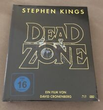 The Dead Zone Mediabook Blu Ray DVD New FREE SHIP Christopher Walken SOLD OUT