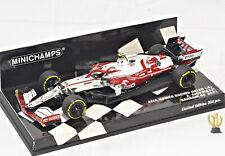 1:43 Minichamps 417210199 Alfa Romeo C41, Bahrain GP 2021, Giovinazzi #99