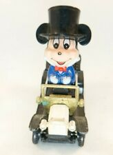 New listing Vtg Mickey Mouse Top Hat White Ford Model T Toy Car Tomy Disney No. Pd-9 F11-1