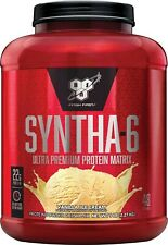 Bsn Syntha-6 Whey Protein Powder Milk Protein Vanilla Ice Cream, 48 Servings