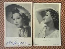 Heli Finkenzeller : signierte PvH-Karte (Foto: Tobis-Sandau) + Ross A 3280/2