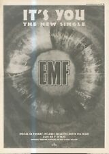 """(ANEW11) POSTER/ADVERT 15X11"""" EMF : IT'S YOU SINGLE"""