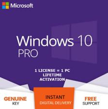 Win 10 PRO KEY INSTANT Professional 32/64 BIT Genuine Activation License KEY 🔑