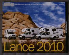 LANCE Truck 2010 Camper dealer brochure - English