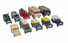 Land Rover Military 10 Vehicle Collection Set 1 76
