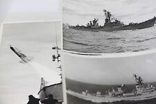 ORIGINAL AUSTRALIAN NAVY LETTERS & PRESS PHOTOGRAPHS H.M.A.S. PERTH HMAS PHOTO
