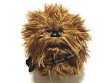 "Star wars underground toys talking chewbacca plush doll 8"" inches"