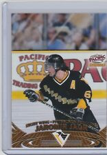1997-98 PACIFIC INVINCIBLE JAROMIR JAGR OFF THE GLASS 17 PENGUINS