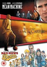 Mean Machine + Coach Carter + Bad News Bears (R2 DVD) New & Sealed