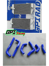 FOR HONDA CRF450R CRF450 2002 2003 2004 04 03 02 Aluminum radiator& hose