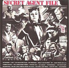 SECRET AGENT FILE (James Bond 007, The Man From UNCLE, I Spy, etc.) CD
