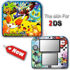 Pokemon X and Y XY NEW SKIN VINYL STICKER DECAL COVER #1 for Nintendo 2DS