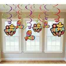 Fiesta Swirls Hanging Decorations