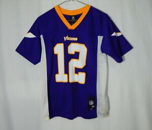 Percy Harvin Minnesota Vikings NFL Football Jersey Youth Medium Boys Clothing