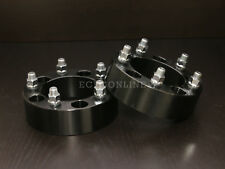 "2"" Black 5x5.5 to 5x5.5 Wheel Spacers - 9/16"" Studs - Dodge Dakota Durango Ram"