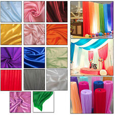 Ice Silk Fabric Swag Backdrop Curtains Home Banquet Wedding Event Decoration 10m
