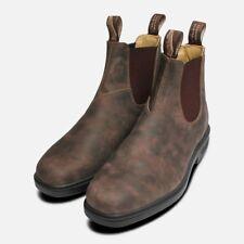 Punta Quadrata 1306 Rustico Marrone da Uomo Blundstone Boots