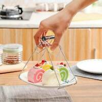 Hot Bowl Clip Plate Dish Holder Clamp Tong Tool Anti-Scald Kitchen Pot Gripper🔥