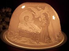 Windlicht Starlight Krippe Geburt Jesu Heilige Nacht Engel Sterne Durchbrochen