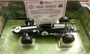 Carousel 1 1967 Gurney Eagle Westlake F1 race car #5 Brands Hatch Champion 1:18