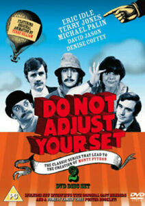 Do Not Adjust Your Set 2-Disc Dvd Eric Idle Brand New & Factory Sealed (1967)