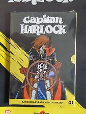 DVD N° 1 CAPITÁN HARLOCK BANDERA PIRATA NELLO SPAZIO REVISTA DE DEPORTE