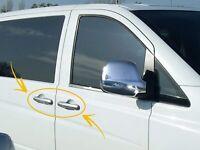 Mercedes VITO W639 CHROME Door Handle Cover (Left Handed Driver) 4Door 2004-2014