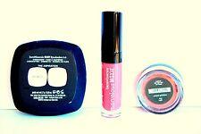 NIB Bare Minerals BE CLASSIC Ready Eyeshadow Duo A-G Blush Moxie Lipgloss Set