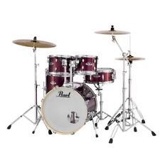"Pearl EXX725SC760 Export EXX 5-Pc Drumset w/ 22"" Bass Drum & Hardware, Burgundy"