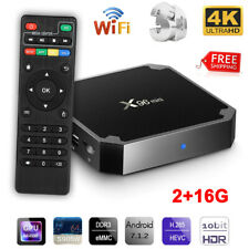 X96 Mini Android 7.1 WiFi TV Box 4K 3D 1080P Quad Core 2+16G HDMI Media Player