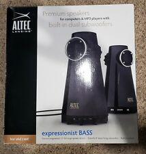 Altec Lansing Black Speaker Set Expressionist BASS