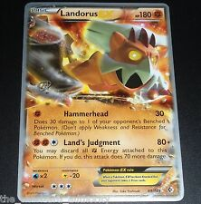Landorus EX 89/149 World Championship PROMO Pokemon Card NEAR MINT