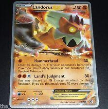 Landorus EX 89/149 World Championship PROMO Pokemon Card NEAR MINT