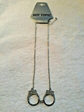 Necklace HOT TOPIC Bling Handcuff Necklace. NEW