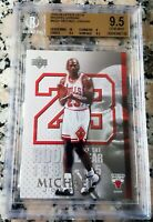 MICHAEL JORDAN 1984 Upper Deck Rookie Of The Year 2005 Card RC BGS 9.5 10 GEM $$