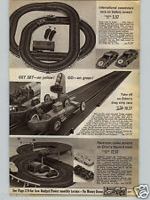 1968 PAPER AD Eldon Drag Strip Raceway Star Trek Helmet Rudy Robot Lost Space
