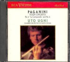 PAGANINI - Violin Concertos 2 & 4 - Uto UGHI / Orchestra Of Saint Cecilia - RCA