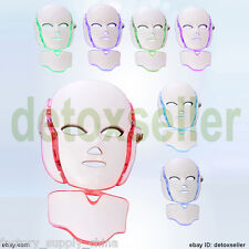 2017 Facial Neck Mask LED Photon Lights Photodynamic PDT Skin Care Rejuvenation