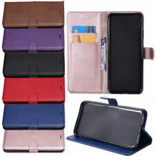 Wallet Leather Pouch Flip Book Card Slot Stand Case For Samsung Huawei & Nokia