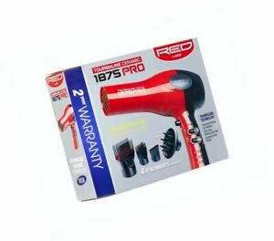 RED by Kiss 1875 Pro Tourmaline Ceramic 2200 Hair Blow Dryer