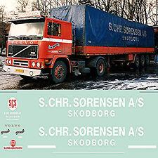 Volvo F12 S. Chr. Sörensen Skodborg Danemark 1:87